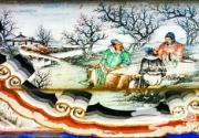 颐和园长廊的人物彩画