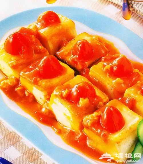 番茄豆腐的做法