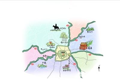 十一京郊自驾 欣赏国道线上的风景[墙根网]
