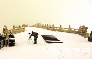 北京新年游园拉开序幕 元旦假期公园年票照办