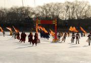 圆明园皇家庙会之溜冰场上
