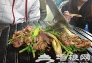 怀旧的老北京炙子烤肉