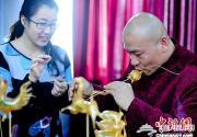 民间绝活跨地区亮相2013北京地坛庙会