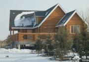 渔阳滑雪度假区 欧式木屋依山而建