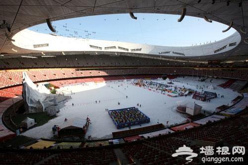 北京冬季最牛的冰雪季、室外滑冰场