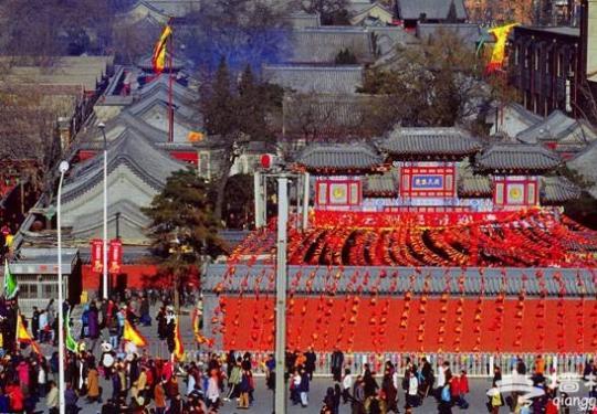 2013北京春节庙会全攻略之白云观庙会