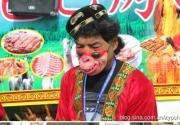 北京庙会,夺人眼球的头部奇装异束style夺人眼球的