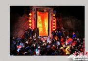 河北蔚县举行神秘而古远的民俗活动:拜灯山