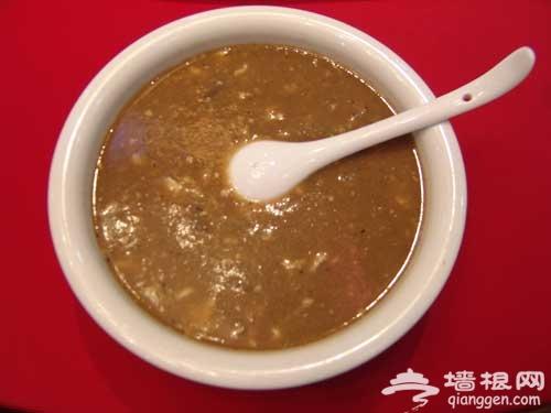 老北京的小吃油面茶