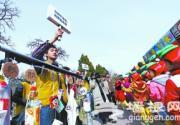 2013北京第七届蟠桃宫庙会为草根团体搭平台