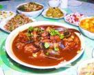上磨村黑龙潭特色鲟鱼宴