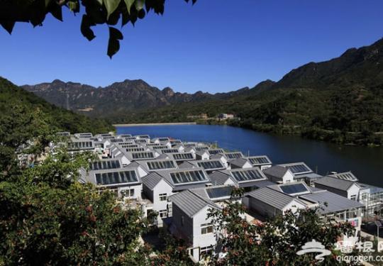 平谷张家台村 一个仿佛嵌入画中的小山村