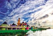 七里海国家湿地公园3D儿童城堡将于6月中旬开放