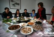 懷柔長哨營鄉大地村滿族美食蘑菇宴