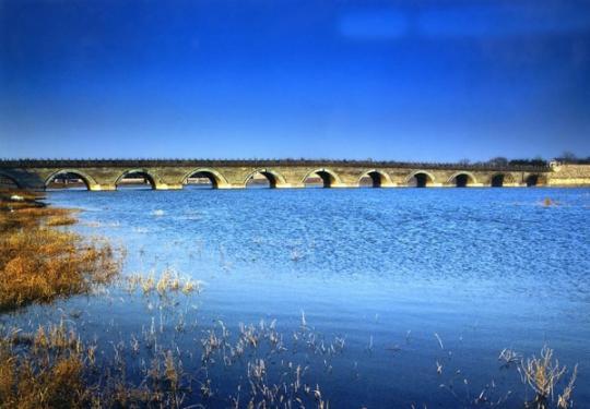 八百年卢沟桥 流转的四季色