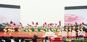 2013天津七里海旅游节开幕 《寻路》剧组祝贺