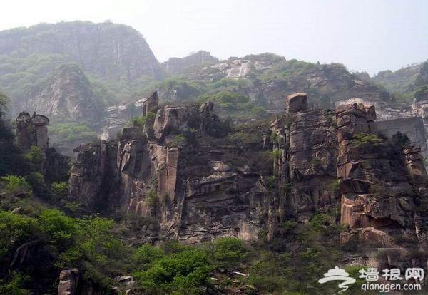京郊夏日避暑胜地 石林峡天上美景落人间