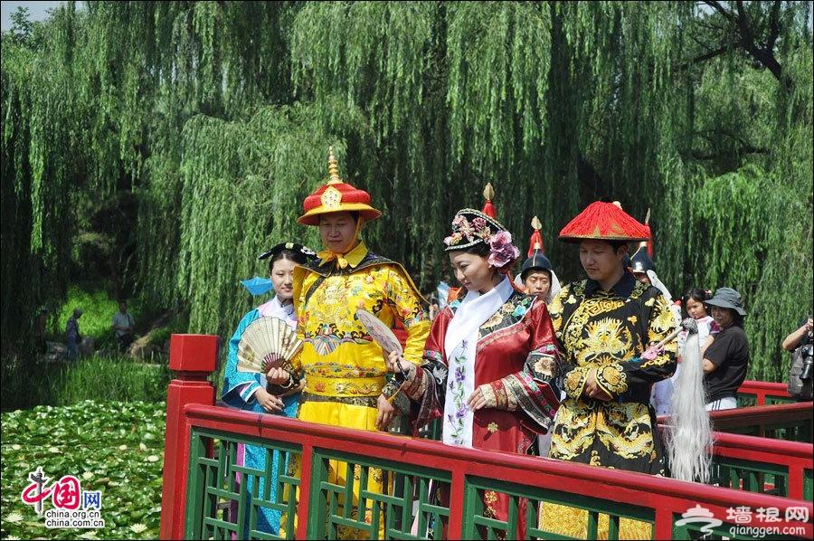 圆明园第十八届荷花节每周末上演穿越山水情景剧
