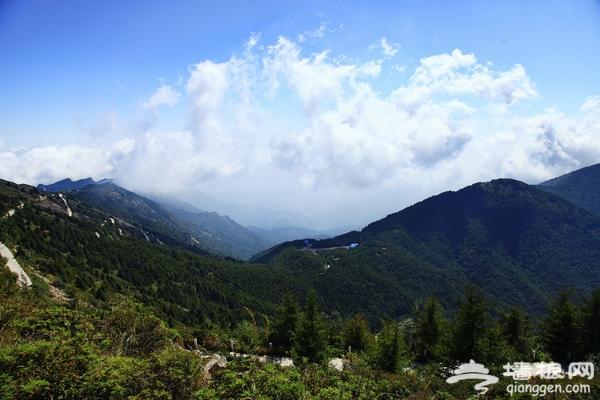 雾灵山:金黄与翠绿相映的人间仙境