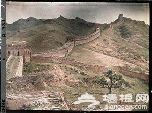 100年前的北京 彩色照片尘封的岁月(组图)