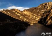 虎峪自然风景区 冬日山间徒步行