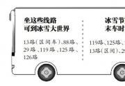 2014哈尔滨冰雪节周日开幕 三条公交可到冰雪大世界门口