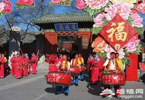 北京庙会上的多样民俗活动[墙根网]