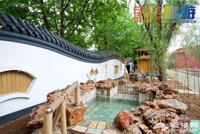 北京丰台过大年 南宫旅游感受温暖如泉
