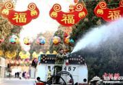 北京庙会悄然就绪静待春节