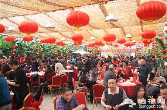 通州过大年千人饺子宴第五季龙水凤港生态农场举行