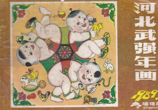 河北武强年画首次走进西藏