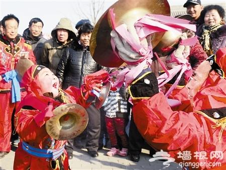 2014宝坻新春庙会10日上午广济寺开幕