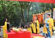 2014清明节云梦仙境举办祭祖祭祀大典