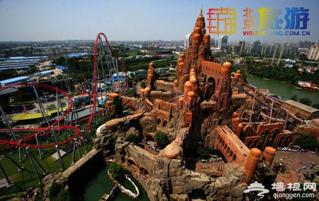 幸福三月天 2014年北京欢乐谷三月游玩宝典门票优惠