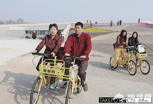 北京园博园今日重开园 游客可骑自行车游览[墙根网]