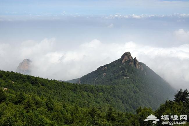 2014清凉避暑北京暑期游 雾灵西峰高山滑水徒步登山