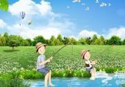 北京周边钓鱼好去处 隐在青山绿水间