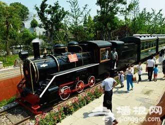 北京的第一条铁路