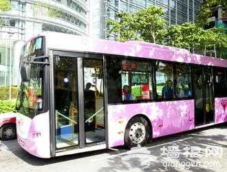 北京的第一条公交线路