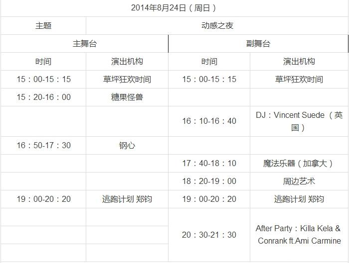 2014第四届北京延庆长城森林艺术节游玩指南