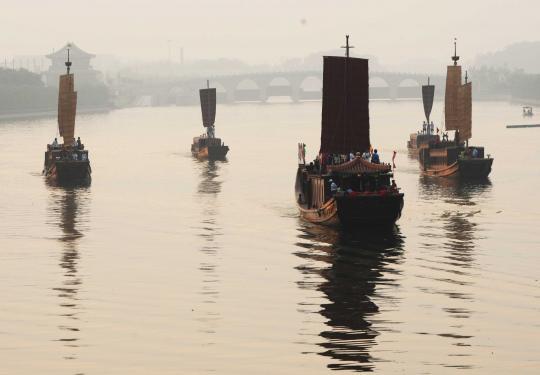 2500年大运河串起新旧通州 京郊游运河攻略