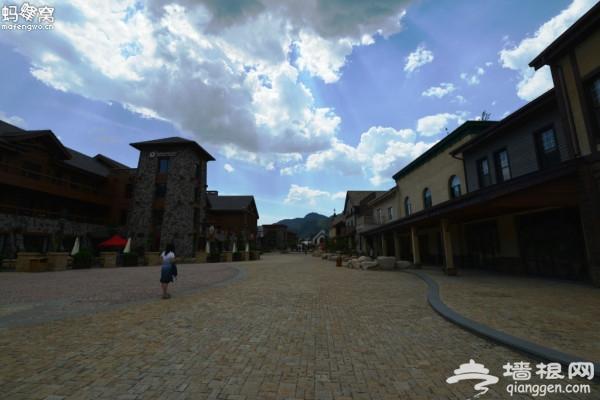 初秋在北京欧洲小镇 感受小镇风情