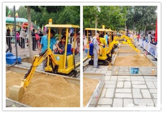 2014北京儿童挖掘机游乐到底哪家强 各大公园挖掘机强势来袭