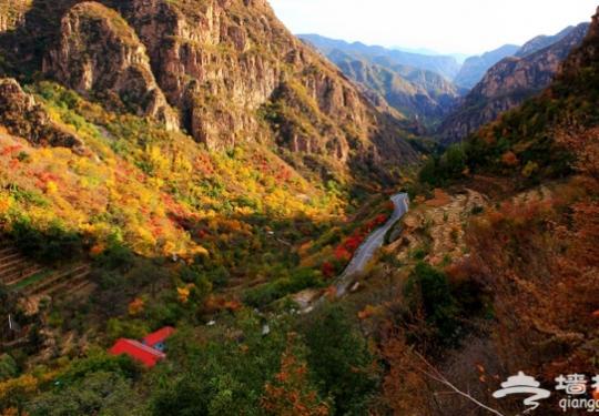 平谷飞龙谷 京郊小张家界的初秋美景