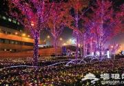 国贸点亮圣诞灯火
