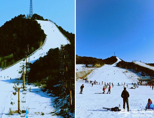 冬天适合去哪里旅游 北京云佛山滑雪场雪的乐园