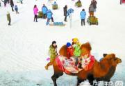 2015奥林匹克公园冰雪节吸引市民参与