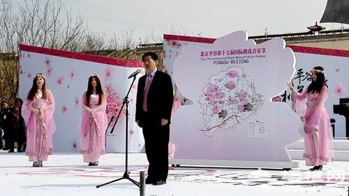 2015北京平谷第十七屆國際桃花音樂節開幕