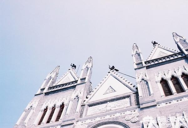 西什库教堂 哥特式建筑