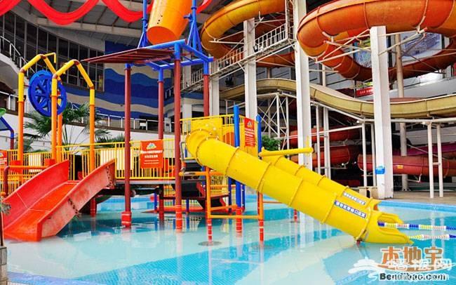 北京避暑亲子游好地方 摩锐水世界室内水上乐园